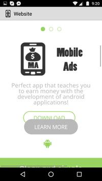 Android Tutorial - Mobile Ads apk screenshot