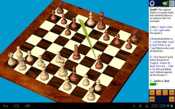 Reader Chess. 3D True. (PGN) apk screenshot