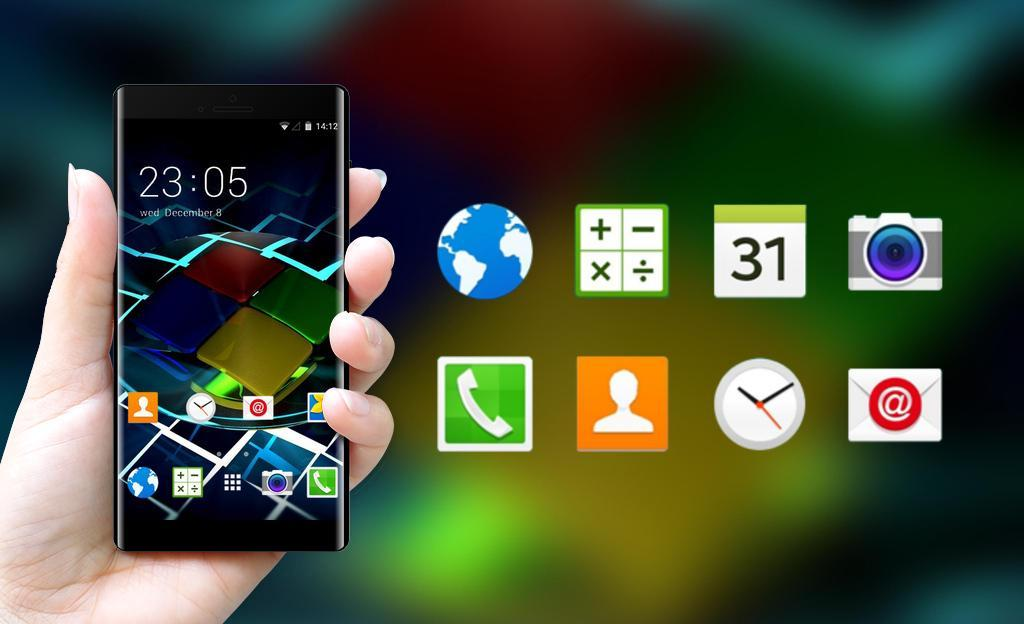 Win 7 Theme for Alcatel One Touch Idol 2 Mini for Android