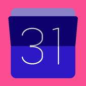 Calendario desde Excel icon