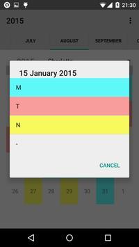 Calendario desde Excel screenshot 6