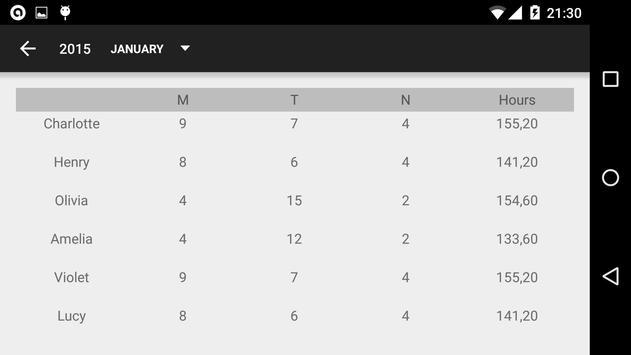 Calendario desde Excel screenshot 7