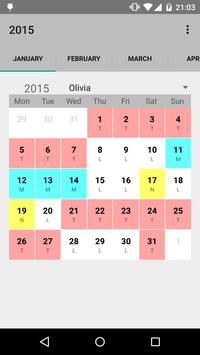 Calendario desde Excel poster