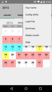 Calendario desde Excel screenshot 2