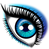 Eyes makeup video tutorial icon