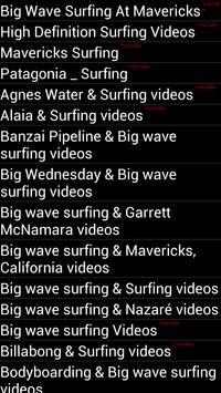Surfing videos स्क्रीनशॉट 3