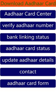 Update Aadhar Card Online - Correction In Aadhar poster