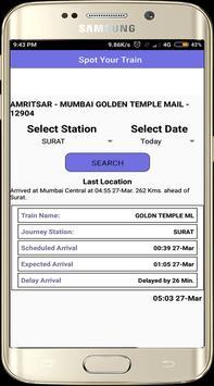 Indian Railway PNR Status 2018 - Railway Enquiry apk screenshot