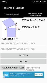 Teorema di Euclide poster