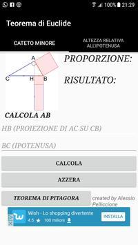 Teorema di Euclide screenshot 1