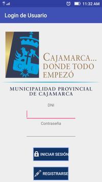 Alerta Cajamarca poster
