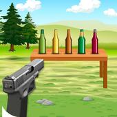 Bottle Shoot 3D icon