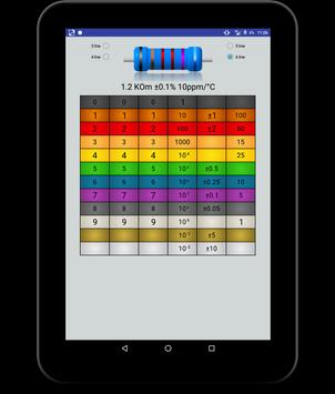 3 band resistor color code calculator pdf