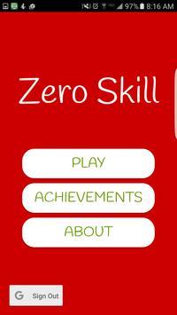 Zero Skill poster