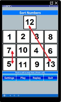 Sequence Pad Plus Puzzle screenshot 1
