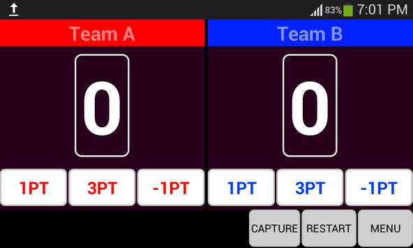 Basketball ScoreBoard apk screenshot