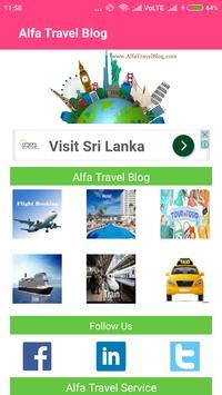 Alfa Travel Blog poster