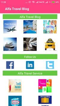 Alfa Travel Blog screenshot 1