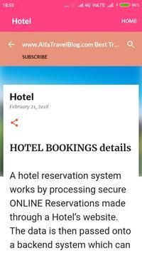 Alfa Travel Blog screenshot 3