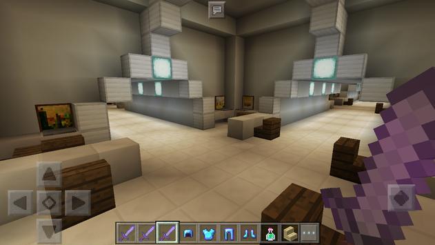 Aliens escape Map for Minecraft apk screenshot