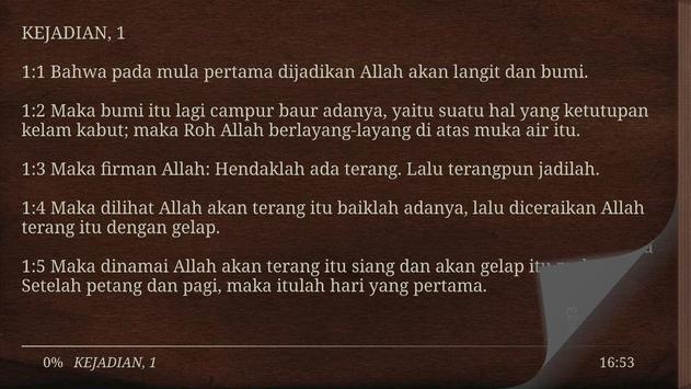 Alkitab Bahasa Indonesia Gratis apk screenshot