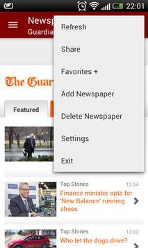 Canada Newspapers apk screenshot