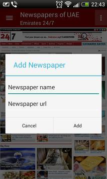 UAE Newspapers apk screenshot