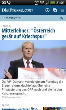 Austria Newspapers screenshot 1