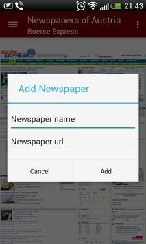 Austria Newspapers screenshot 3