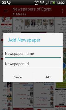 Egypt Newspapers screenshot 3