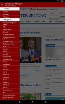 Hungary Newspapers apk screenshot