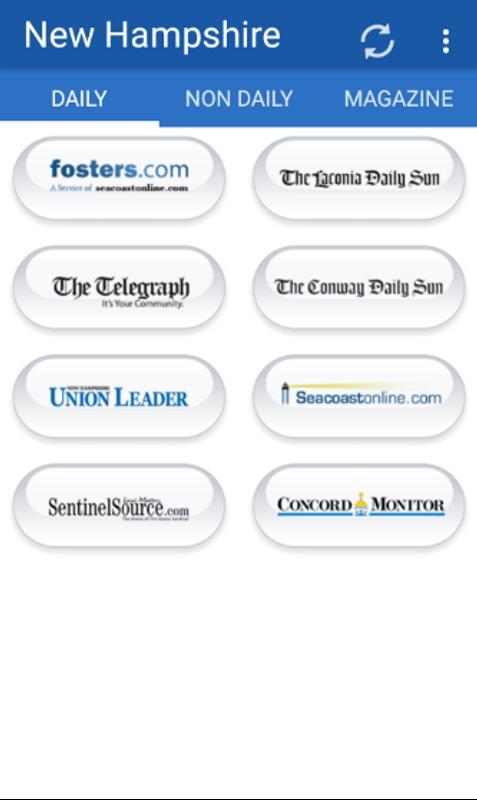 New Hampshire Newspapers For Android