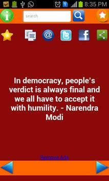 Quotes Of Modi poster