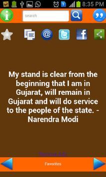 Quotes Of Modi apk screenshot