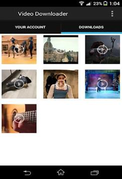 Amis Video Downloader apk screenshot