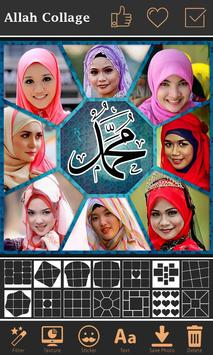 Allah Photo Collage Maker poster