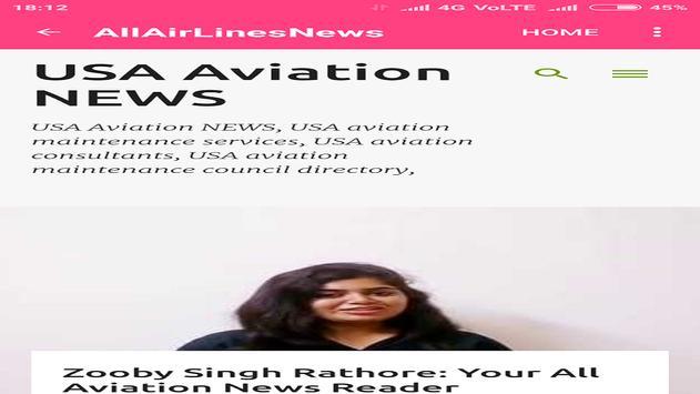 All Airline News screenshot 1