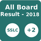 All Boards SSLC +2 Result 2018 icon