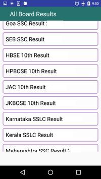 All Boards SSLC +2 Result 2018 apk screenshot