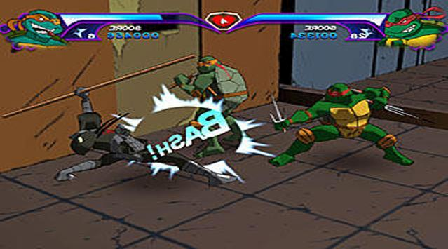 Ninja Shadow Turtles Game 2017 screenshot 1