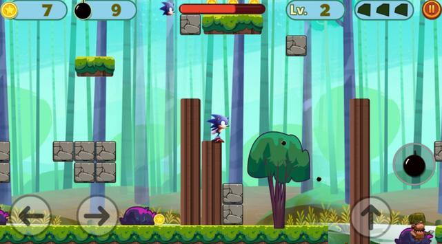 Super Sonic Speed Game apk screenshot