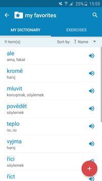 Czech-Turkish Dictionary screenshot 6