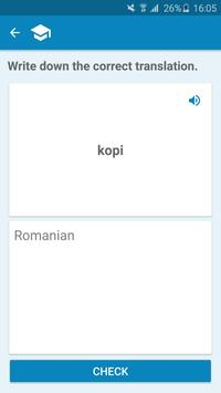 Danish-Romanian Dictionary screenshot 4