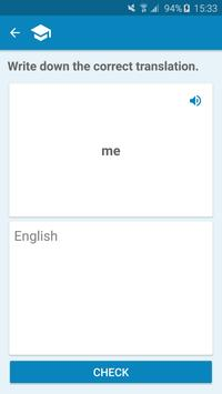 Albanian-English Dictionary apk screenshot
