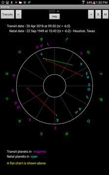 Natal Charts screenshot 1