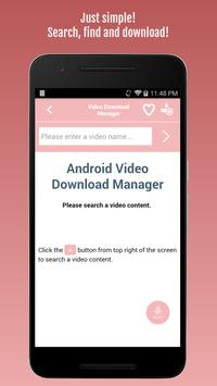 Video Download Manager poster