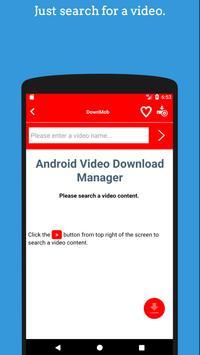 📽️DownMob : Free HD Video Downloader screenshot 1
