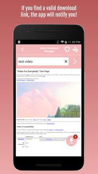 Video Download Manager screenshot 2