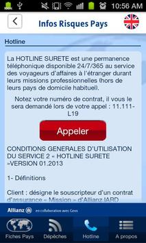 Infos Risques Pays screenshot 5