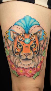 Tiger Tattoo Designs poster